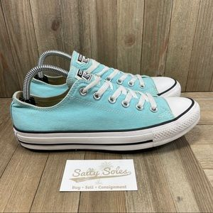 Converse All Star Low Blue Womens Size 9